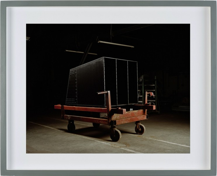 Red Trolley, Unit 2, framed Chromogenic print, 60 x 60cm, edition of 5, 2008, © the artist