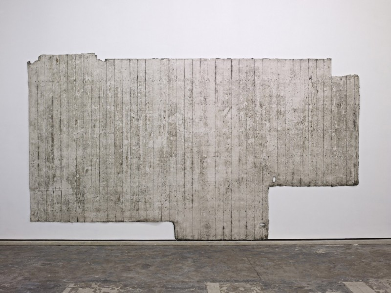 (First) Second floor, 2013, silicone rubber, 250 x 440cm. Image courtesy the artist and Workplace Gallery, UK. © the artist