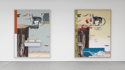 Helen Marten, Installation view of Oreo St. James, Sadie Coles HQ, London 2014. Courtesy the artist and Sadie Coles HQ.