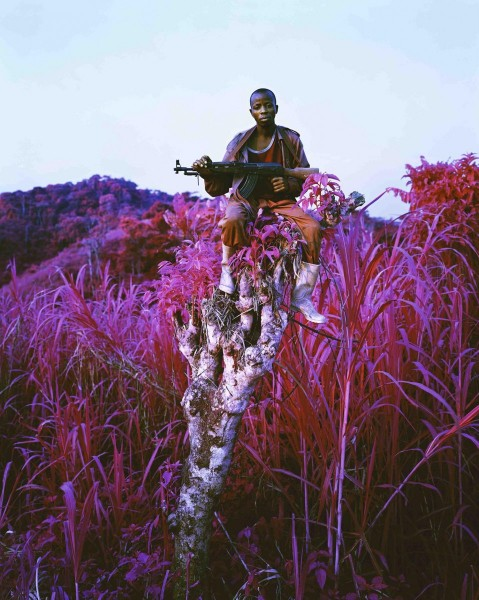 Richard Mosse, Higher Ground, 2012 C-print, 228.6 x 182.9cm, Edition of 2 +1AP, courtesy The Vinyl Factory and Edel Assanti, London, © the artist.