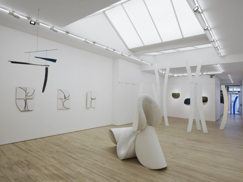 Jessie Flood-Paddock, Nude, 2014, installation view at Carl Freedman Gallery, London.  Image courtesy the artist and Carl Freedman Gallery, London