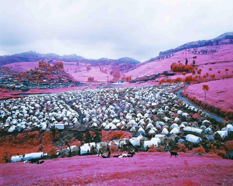 Richard Mosse, Thousands Are Sailing II, 2012, C-print, courtesy The Vinyl Factory and Edel Assanti, London, © the artist.