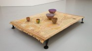 Bowl Set, 2011, Modelling material, paint, dimensions variable