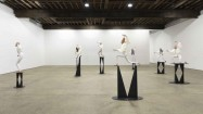 Installation view, War Dance, Anton Kern Gallery, New York