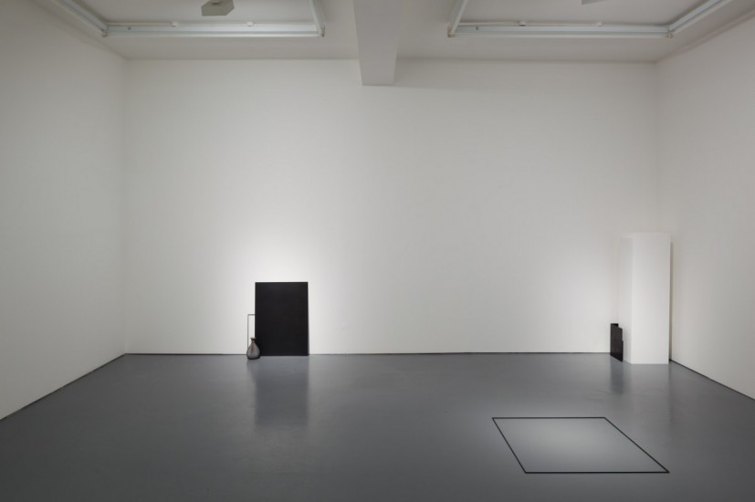 Haris Epaminonda, installation view, 2014, Rowing, London. Photo: Plastiques photography