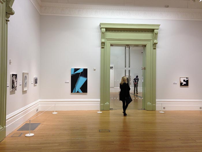 John Moores Painting Prize, installation view, Walker Art Gallery, Liverpool, 2014, photo courtesy the artist