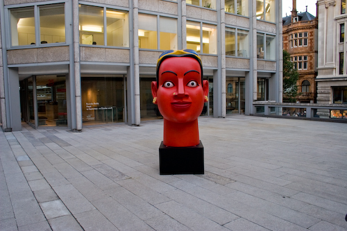 Ravinder Reddy, Head, 2008, © the artist, courtesy: the artist and Grosvenor Gallery, London. Photo: Matthew Blaney