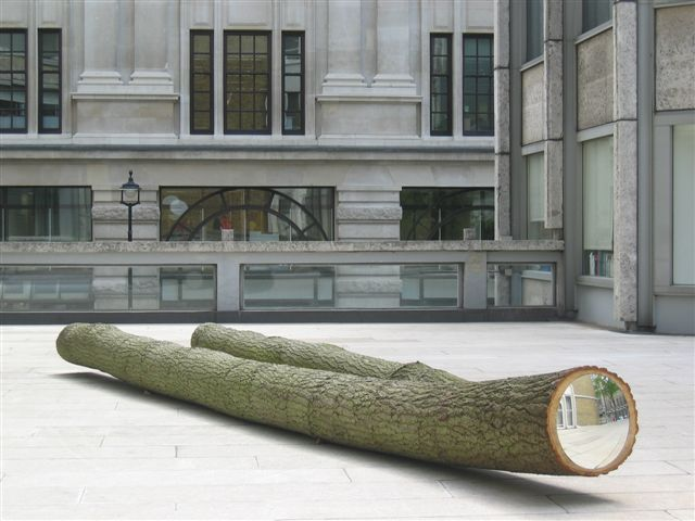 Kate Davis, Target (London) 2005, The Economist Plaza, 2005. Image courtesy the artist, © the artist
