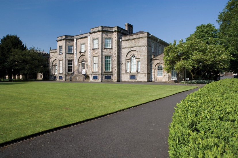 Abbot Hall, exterior view from the East, photo © Tony West