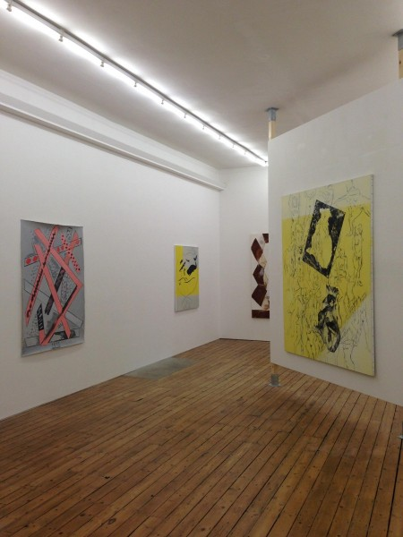 July (installation view), 2014. Photo courtesy The Approach, London.