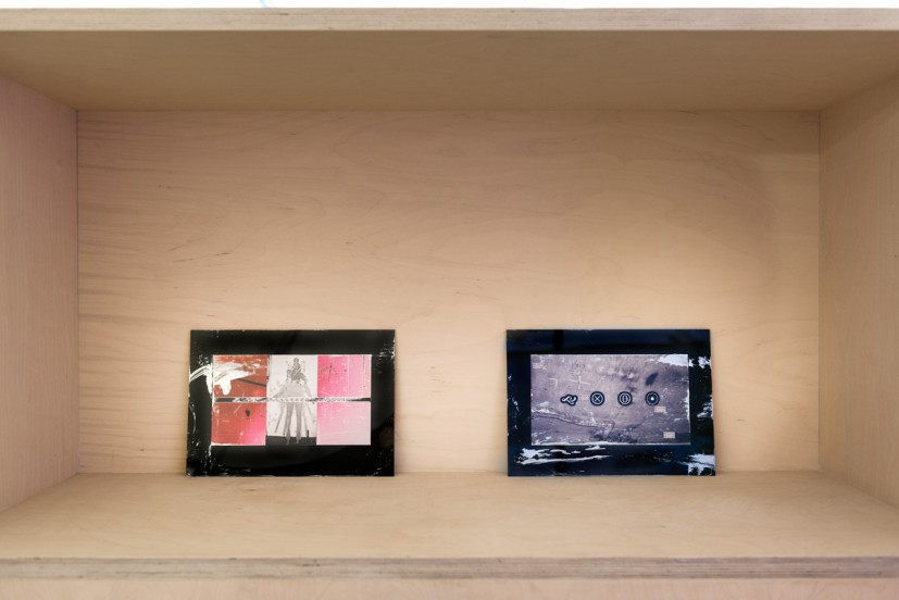 Clunie Reid, The Given That Keeps on Givin', 2014, photograph, perspex and silver ink, each panel 21 x 30cm, 24 pieces, unique. Courtesy the artist and MOTInternational, photo: Joe Plommer