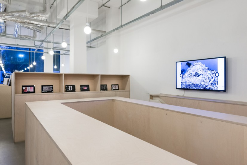 Clunie Reid, The Given That Keeps on Givin', 2014, installation view. Courtesy the artist and MOTInternational, photo: Joe Plommer