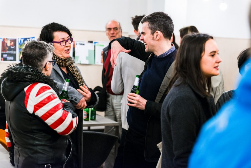 PROJECT 08: Clunie Reid, Preview 6 November 2014. Photo: Joe Plommer