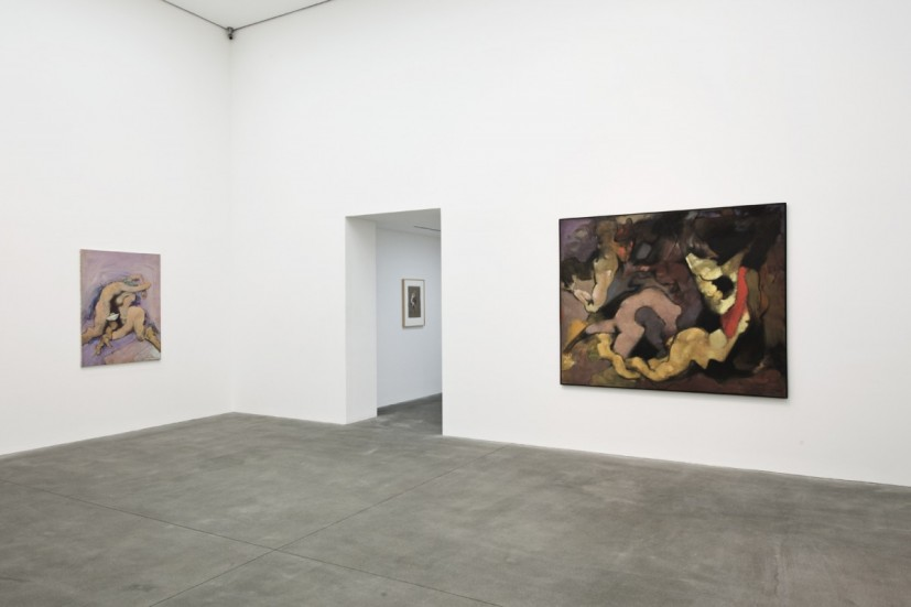 Dorothea Tanning, Web of Dreams, installation view, Alison Jacques Gallery, London, 2014. © The Estate of Dorothea Tanning. Courtesy The Dorothea Tanning Foundation and Alison Jacques Gallery, London. Photograph: Michael Brzezinski