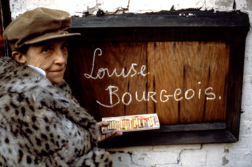 Louise Bourgeois in 1980. Photo: Mark Setteducati © The Easton Foundation/Licensed by DACS
