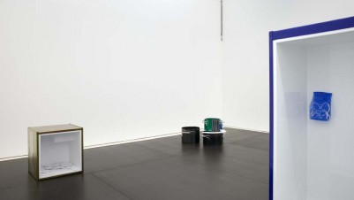 Magali Reus, In Lukes and Dregs, Installation view at The approach, London, 2014. Photo FXP Photography.  Courtesy The approach.