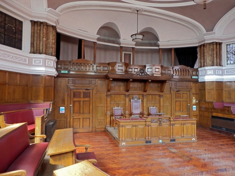 Former Council Chamber, Old Shire Hall, Durham