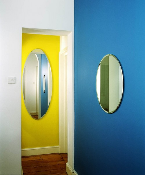 John Hilliard, Oval And Circle - Two Elliptical Reflections On Not Being In The Room (1), 2013, c-type print on museum board, 82 x 71cm. © John Hilliard. Courtesy Richard Saltoun Gallery