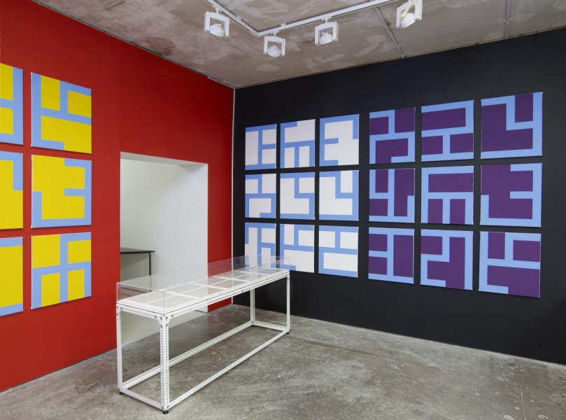 Philippe Van Snick, Eviter Le Pire, installation view at Arcade, London, 2014. Courtesy the artist and Arcade, © the artist.