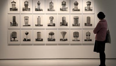 Bernd & Hilla Becher, Constructing Worlds, Photography and Architecture in the Modern Age, Installation images, Barbican Art Gallery, 25 Sept 2014 – 11 Jan 2015, © Chris Jackson / Getty Images