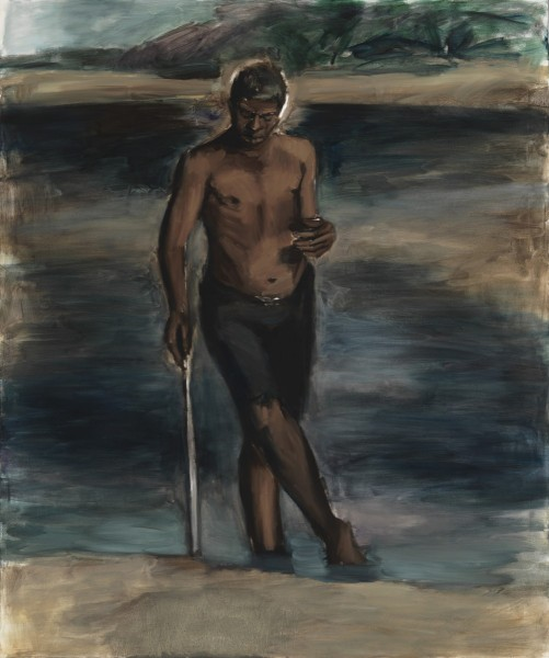 Lynette Yiadom-Boakye, Luminary, 2011, oil on canvas. Photo courtesy of the Danjuma Collection
