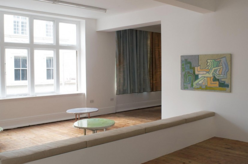 Tamara Henderson, Charmer Scripture, 2014, installation view at Rodeo, London. Image courtesy Rodeo, London. Photograph: Harry Scott. © the artist