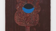 Nel Aerts, Lord Little Tree, 2014. Acrylic on wood, 53 x 43 cm. Courtesy of Carl Freedman Gallery, London