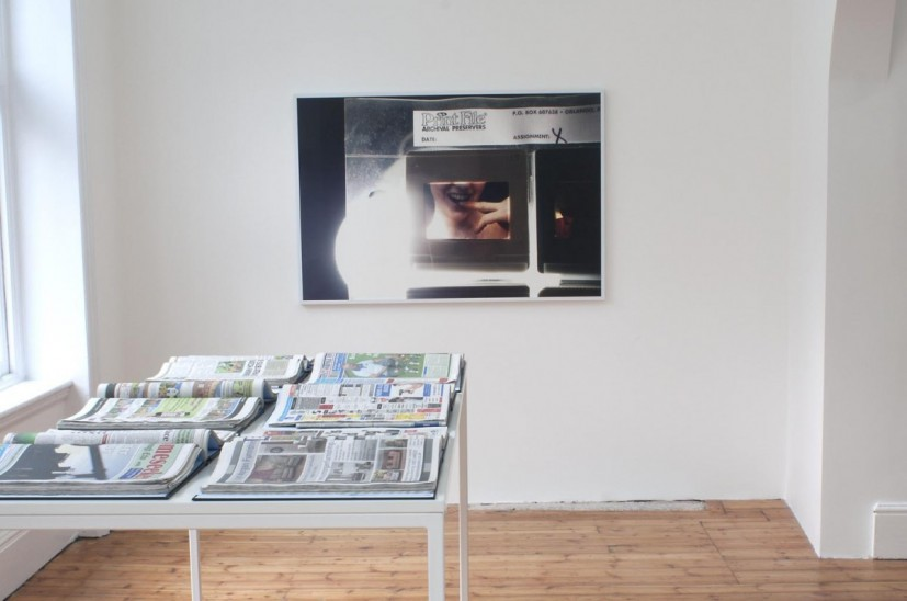 Banu Cennetoğlu, Gentle Madness, 2014, installation view at Rodeo, London. Image courtesy Rodeo, London. Photograph: Harry Scott. © the artist