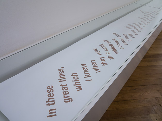 Uriel Orlow, Silent, installation version, dimensions variable, 2012. Courtesy the artist.