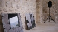 Uriel Orlow, Unmade Film. Installation view, Al Ma' mal, Jerusalem, 2012.  Courtesy the artist.