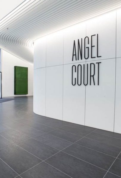 Simon Callery, Wiltshire Modulor Double Void, 2016. Installation view at Angel Court. Photo courtesy Marc Wilmot
