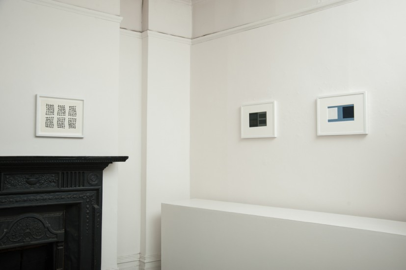 Chance and Order, installation view, 2014. Courtesy The Eagle Gallery, London.