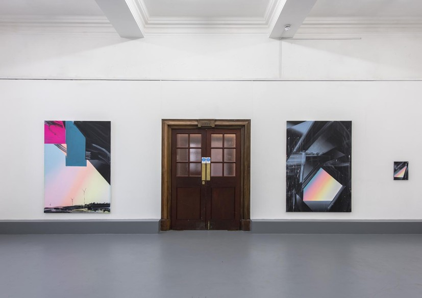 Cave Paintings, installation view, Lewisham Art House, London, 2015. Photo: Tom Horak