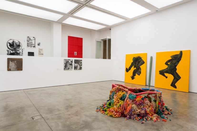 Bloomberg New Contemporaries, installation view, at the Institute of Contemporary Arts, London (26 November 2014 - 25 January 2015). Photo: Mark Blower