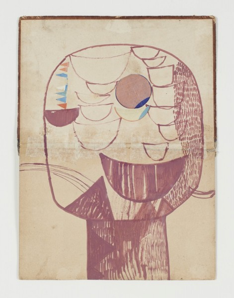 Sally Taylor, Confused Head 27, 2014. Courtesy Jerwood Drawing Prize 2014