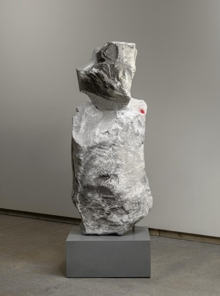 Daniel Silver, Untitled, 2014, from Rock Formations, Frith Street Gallery, 2015. All works courtesy the artisy and Frith Street Gallery, London. Photograph: Alex Delfanne.