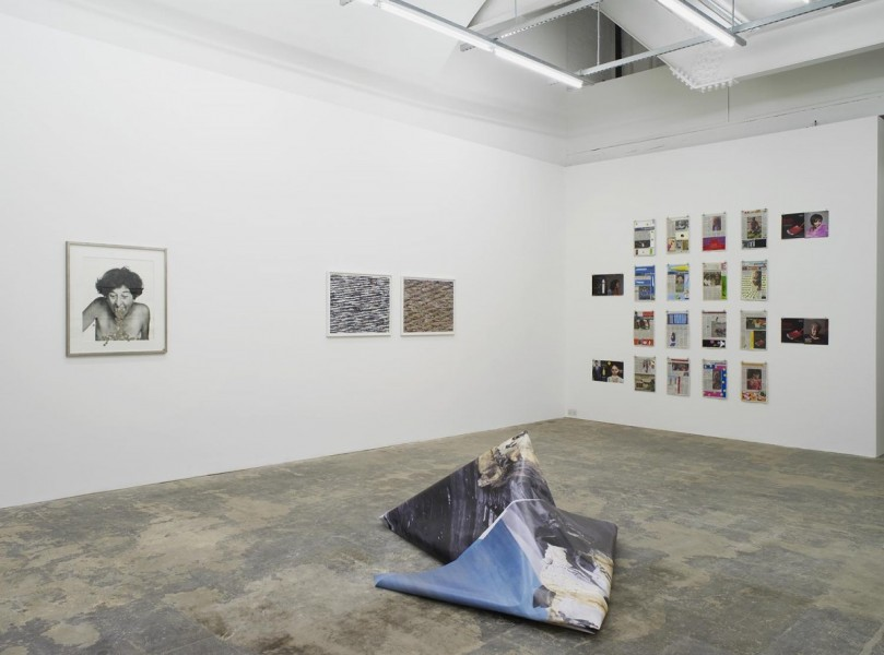 If a Circle Meets Itself, installation view detail, 2015. Courtesy Hollybush Gardens, London. Photo: Andy Keate