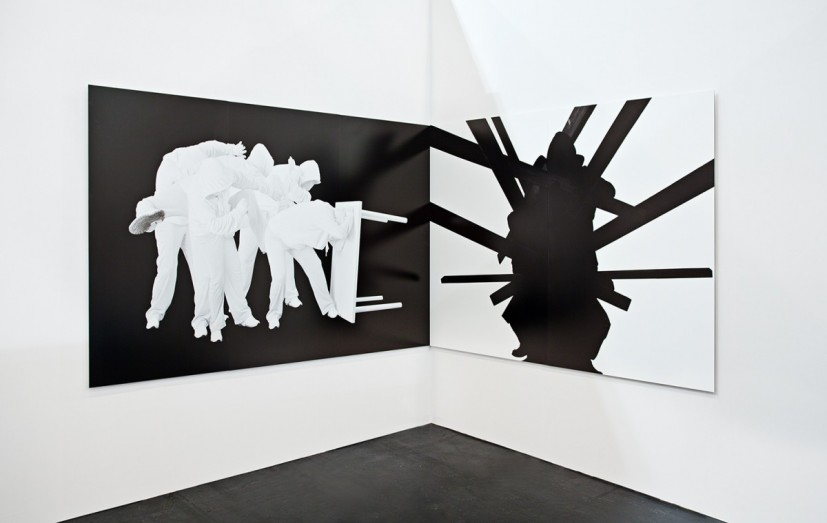 Gestalt (stature #203), Gestalt (built #101), archival pigment print, 100 x 240cm & 100 x 200cm, edition of 5, 2011.  Image courtesy the artist, © the artist