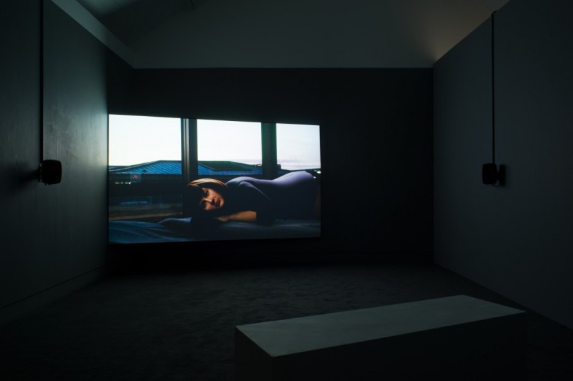 Lucy Clout, From Our Own Correspondent, 2015, installation view at Jerwood Space as part of the Jerwood FVU Awards 2015. Image courtesy of the artist, photographer: Anna Arca