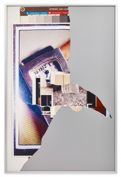 David Maljkovic, New Reproduction, inkjet prints collaged and mounted on alubond, 150 x 100cm, 2013 (2), Sprüth Magers London, 10 April - 9 May, 2015. Courtesy of the artist and Sprüth Magers
