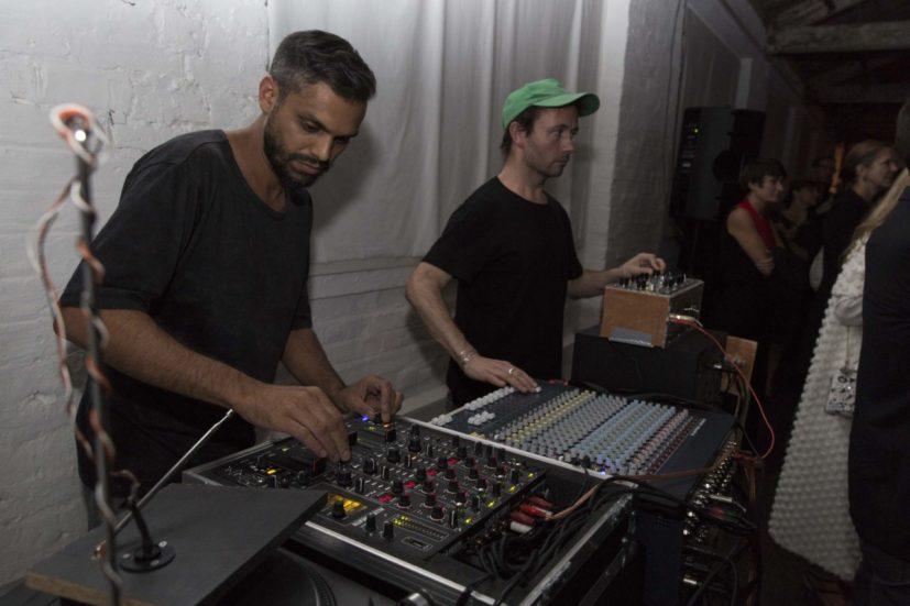 The Artist's Table with Haroon Mirza, 22 September 2016