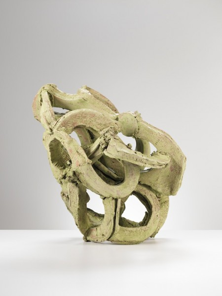 Grant Aston Radioactivitat (2013) Fired clay 65 x 55 x 60cm. © Grant Aston Photo: Michael Harvey .