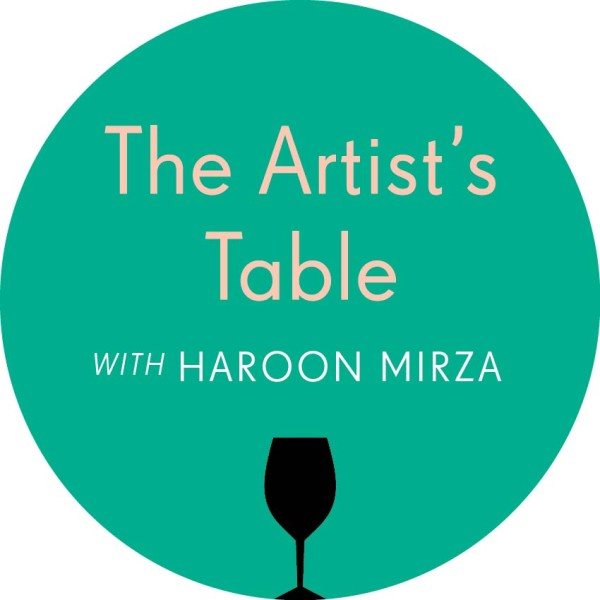 The Artist's Table with Haroon Mirza