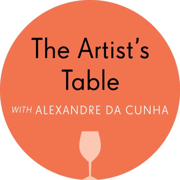 The Artist's Table with Alexandre da Cunha