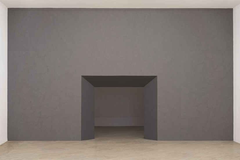 Thomas Hutton, 'Tramezzo Concrete Screen Rusticated', installation view, 2015. Fondazione Memmo, Rome. Courtesy of the artist.