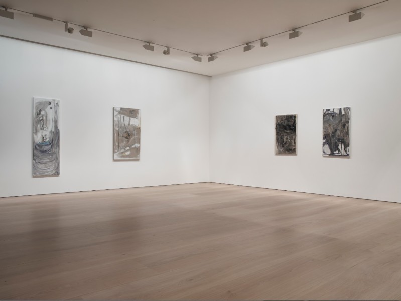 Varda Caivano, installation view, Victoria Miro Gallery, Mayfair, 2015. Courtesy the Artist and Victoria Miro, London © Varda Caivano