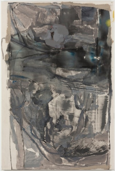 Varda Caivano, 'Untitled', 2014-2015, Acrylic and charcoal on canvas. Courtesy the Artist and Victoria Miro, London © Varda Caivano