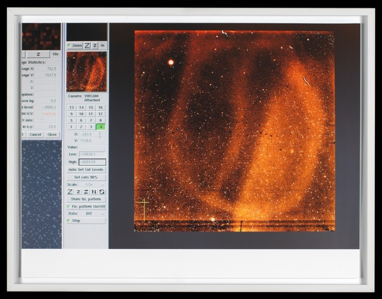 Wolfgang Tillmans, sensor flaws and dead pixels, ESO, 2012. Image: National Maritime Museum, Greenwich, London, courtesy of the artist