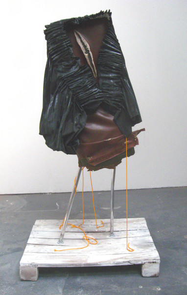 Bird, mixed media, 140 x 110 x 60cm, 2011. Image courtesy the artist, © the artist