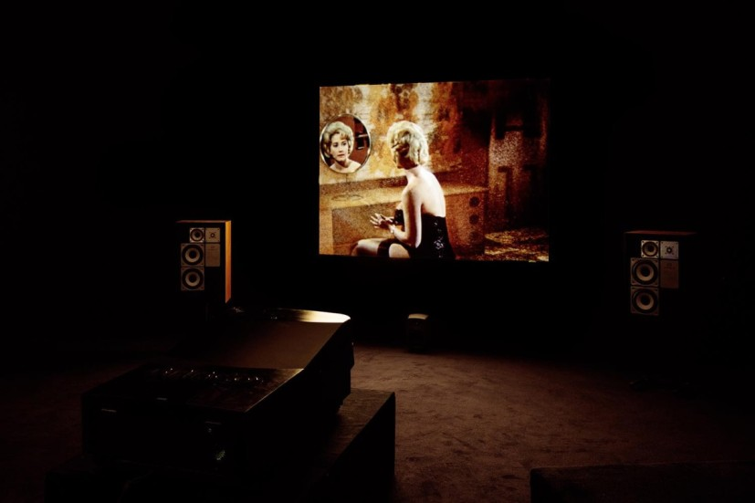 Mark Leckey, Dream English Kid, 1964 - 1999 AD, installation view, Cabinet, London, 16 October - 28 November 2015. Image courtesy the Artist and Cabinet, London.